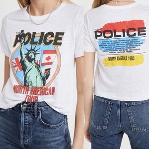 Chaser  The Police Crop Tee